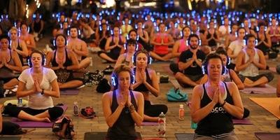 Sound Off™ Yoga at Sanitas Brewing – Boulder