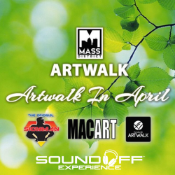 MASS District Artwalk in April Flyer