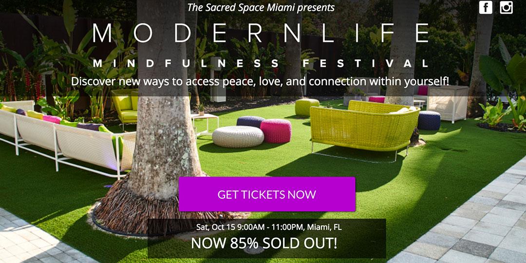 Modern Life Mindfulness Festival
