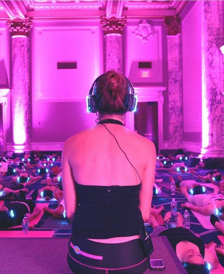 dosist x Sound Off Submerge Live DJ Yoga + Yoga Nidra Experience