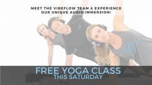 Free VibeFlow Yoga Class