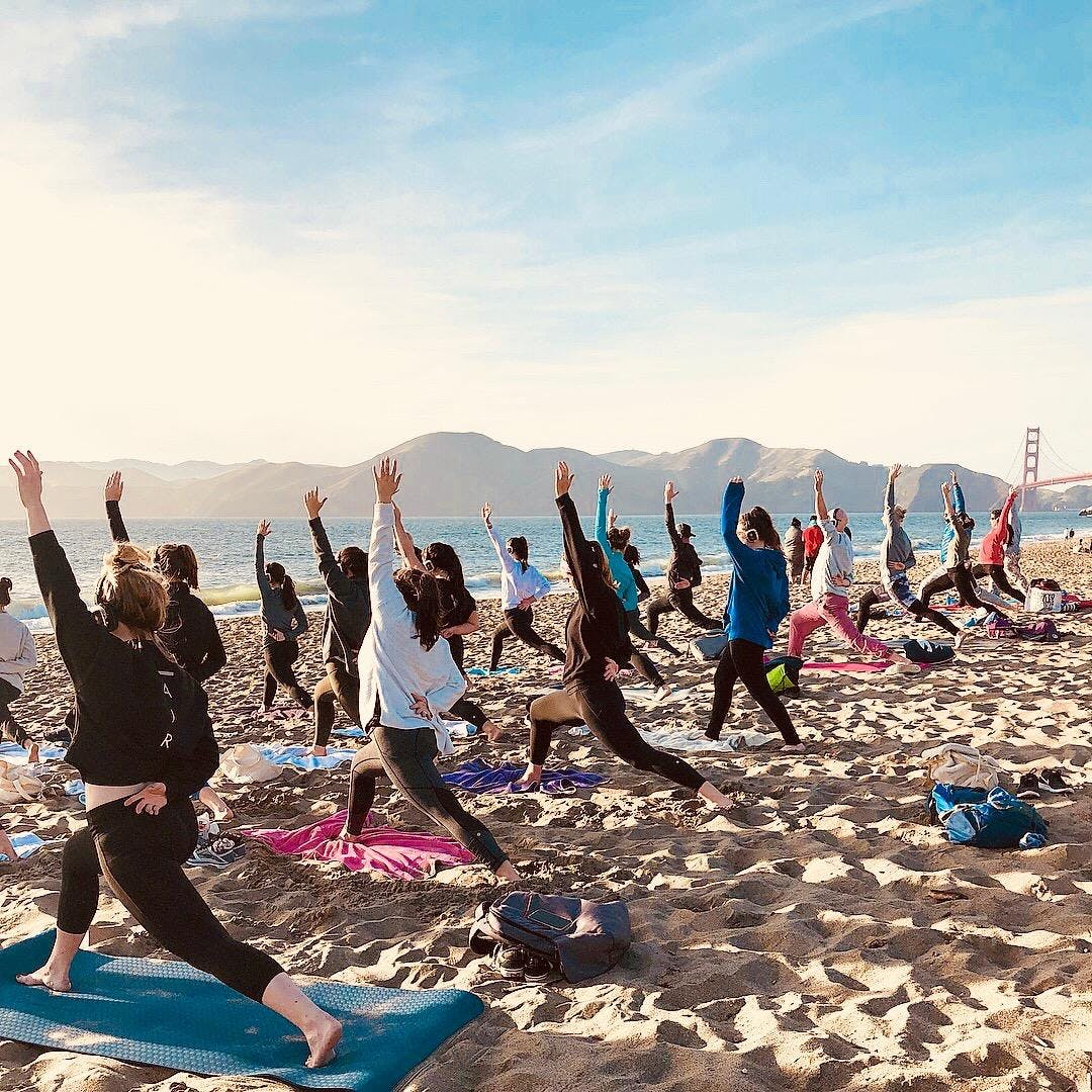 Tuesday Sunset Yoga with Kirin Power