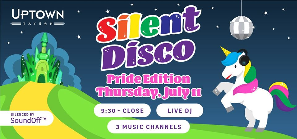 Sound Off™ Silent Disco: PRIDE Edition!