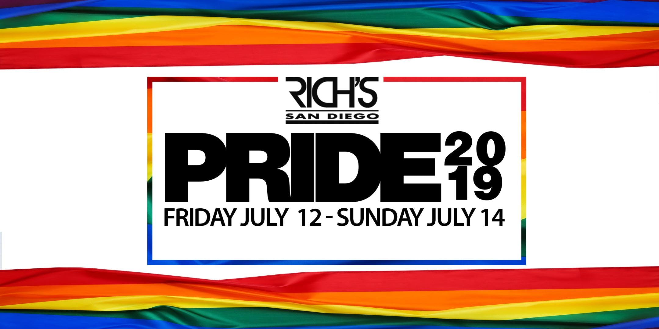 Rich's Pride 2019 VIP Weekend Pass