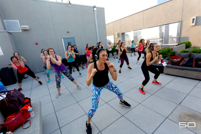 Shape Up NYC: Silent Disco Fitness Party