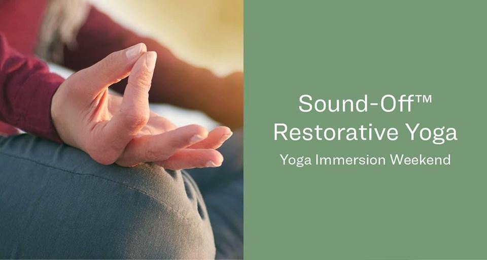 Sound-Off Restorative Yoga