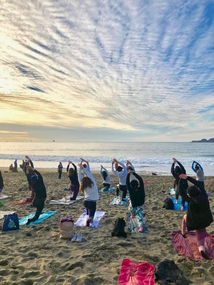 Tuesday Sunset Yoga with Emily!