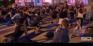 Sound Off Rooftop Yoga with Body Alive at The AC