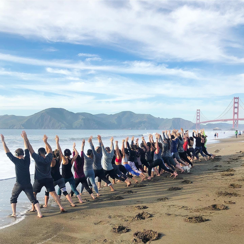 Sunday Zen Beach Yoga with Julianne!