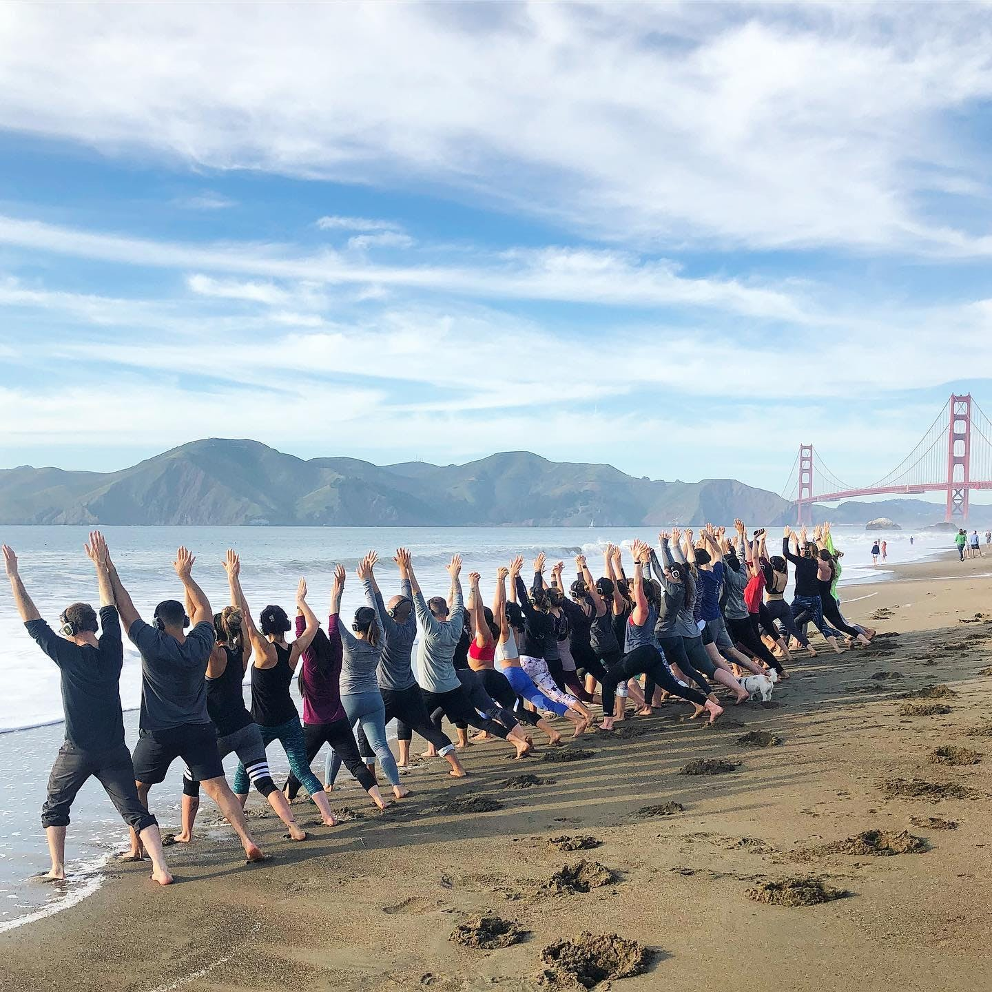 Sunday Zen Beach Yoga with Julianne!