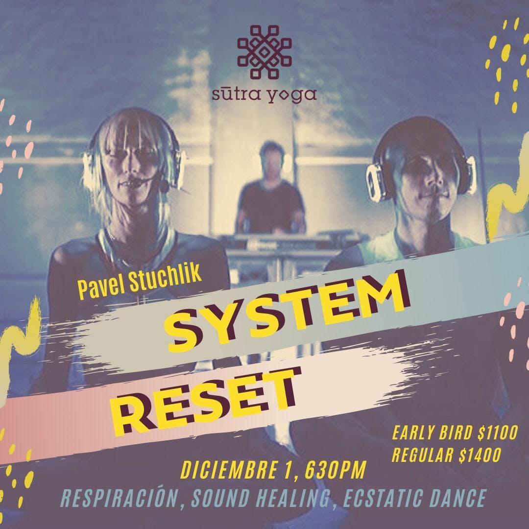 Silent Disco System Reset - Wim Hof Method @Supra Roma en CDMX