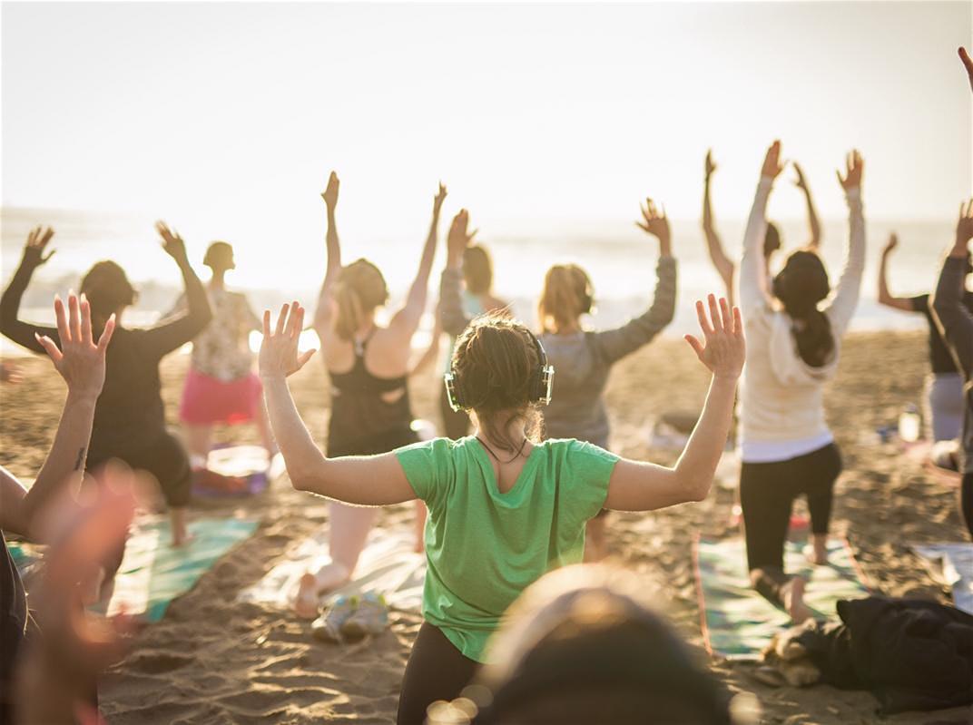 Sunday Sunset Yoga with Sarah!
