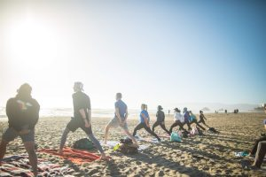 Saturday Groove Beach Yoga with Peter!