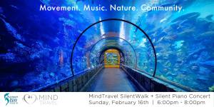 Underwater SilentWalk + Live-to-Headphone Concert at Aquarium of the Bay