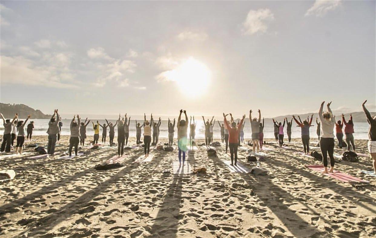 Friday Sunset Yoga with Kirin