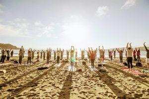 Saturday Groove Beach Yoga with Sarah