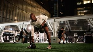 Equinox's new rooftop gym in Los Angeles has partnered with Sound Off™ as their audio solution for this entirely outdoor fitness space.