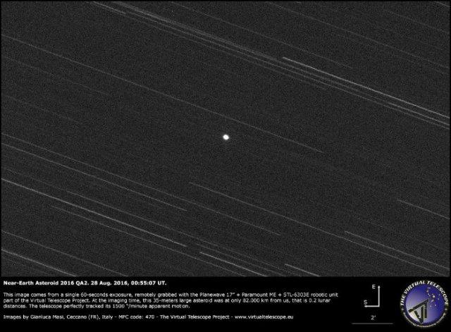asteroid qa2