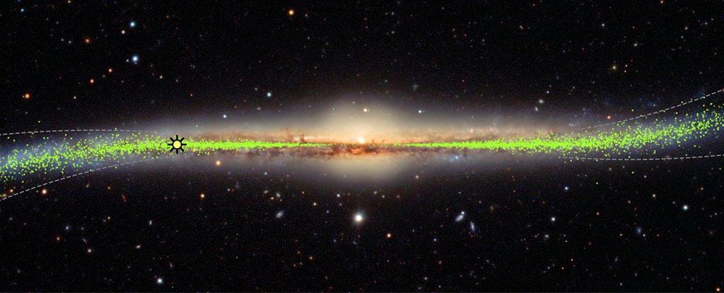 galaxia Calea Lactee