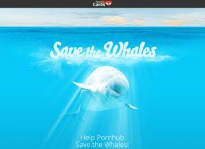 Pornhub conserva balenele