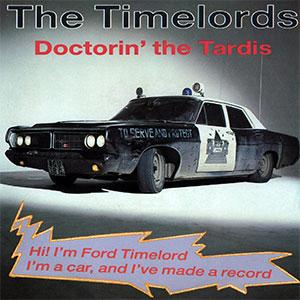 Doctorin' The Tardis sleeve