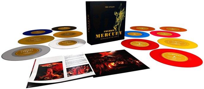 Freddie Mercury Messenger of the Gods box set