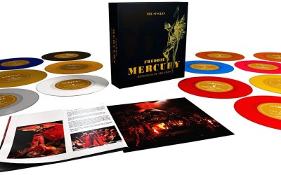 Freddie Mercury Messenger of the Gods box set