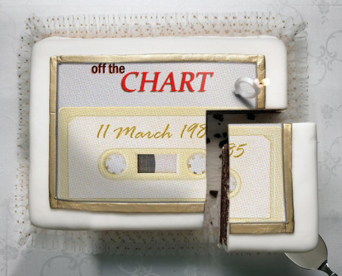 Off The Chart 11-3-85 cake