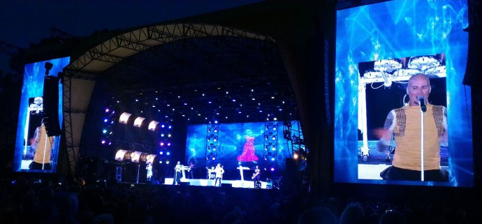 Human League at Rewind Scotland 2017