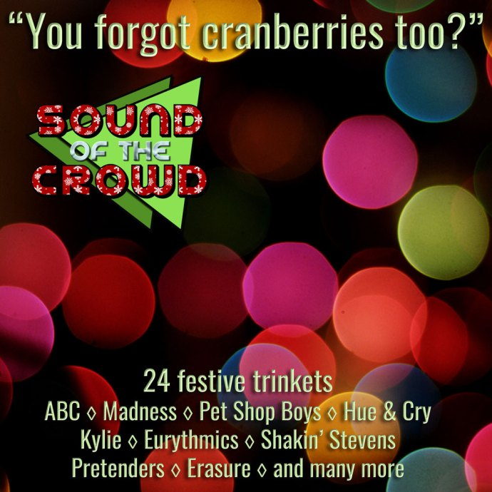 You forgot cranberries too?