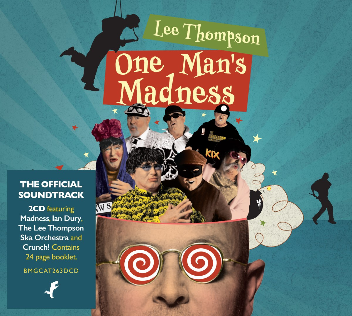 "Lee Thompson: ""One Man's Madness - The Official Soundtrack"""