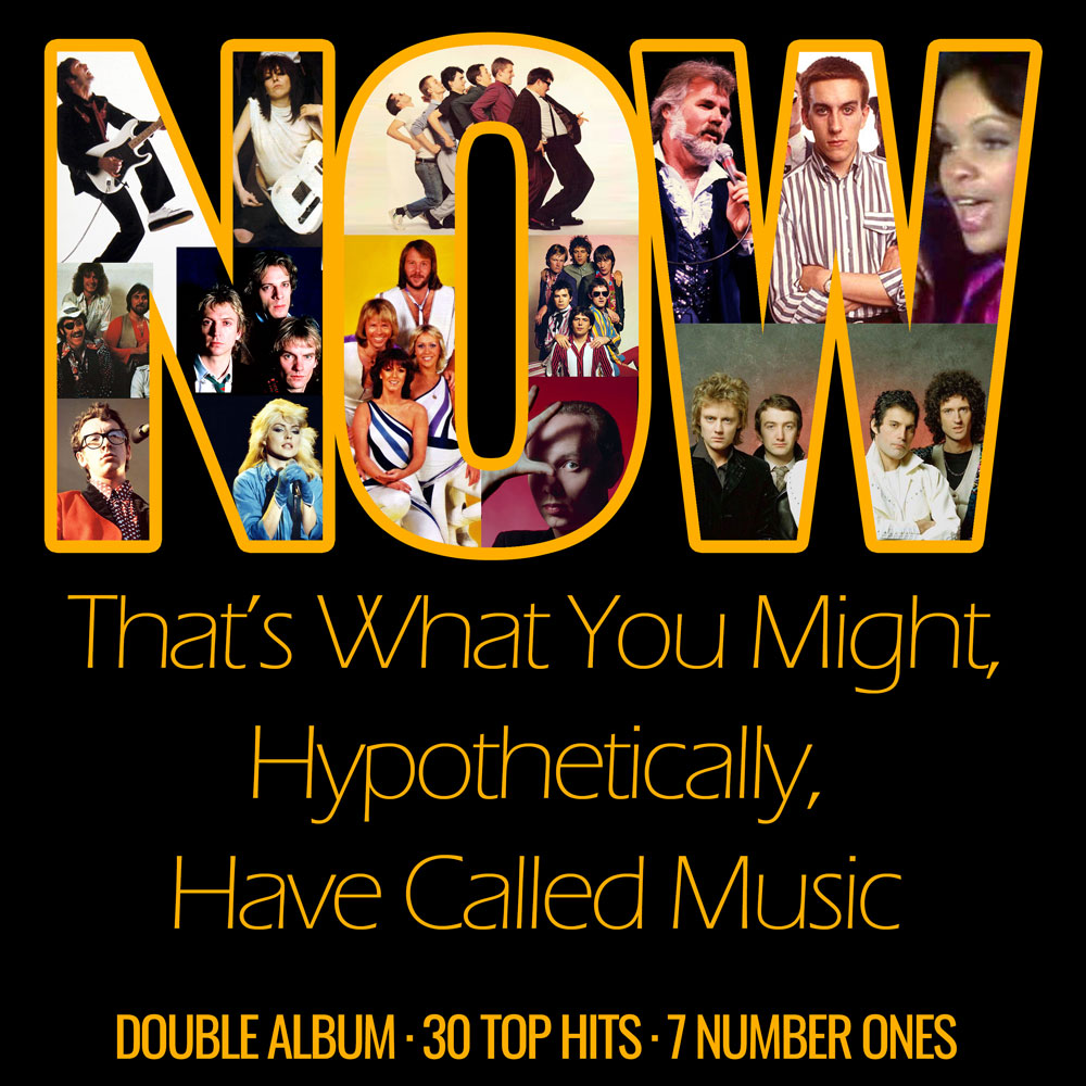 Virtual CD of the Month: Now That's What You Might, Hypothetically, Have Called Music