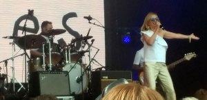 Clare Grogan at Let's Rock Scotland