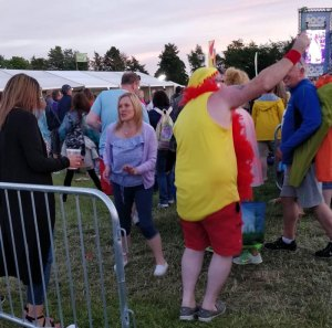 """Hulk Hogan"" at Let's Rock Scotland"