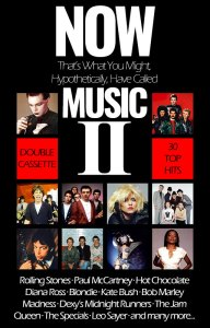 Now That's What You Might, Hypothetically, Have Called Music II cassette inlay