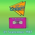 Off The Chart: 21 September 1987