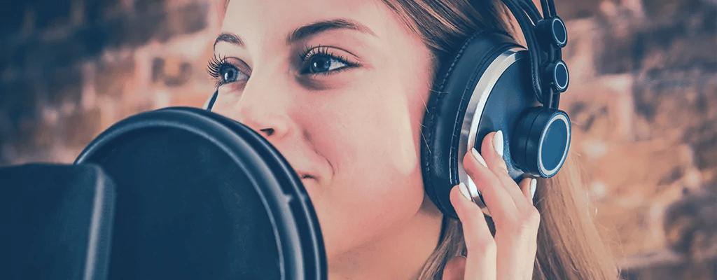 Voice Over / Synchro / Gesangsaufnahme