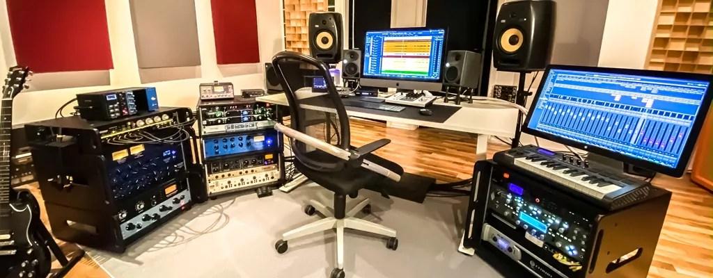 Control Room / Regie SoundPlant Studio.