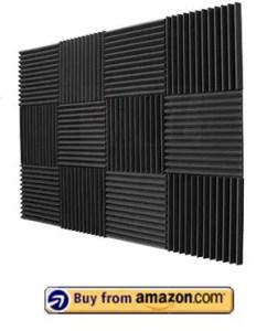 Mybecca 12 Pack- Acoustic Panels Studio Foam Wedges