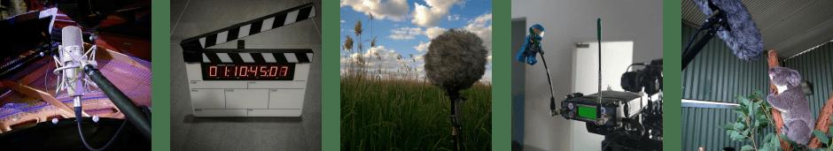 Equipment for Sydney Sound Recordist