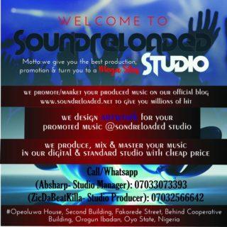 Soundreloaded Studio Big Banner