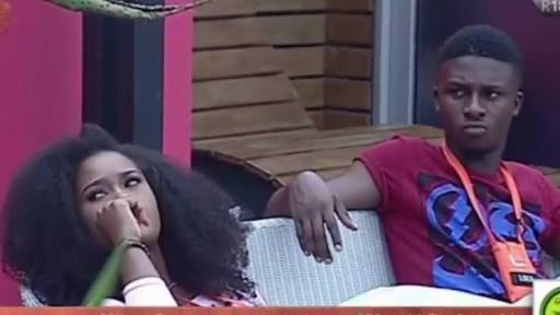 #BBNaija: Lolu And Cee-C Risk Being Disqualified As They Fight In The House (Watch Video)
