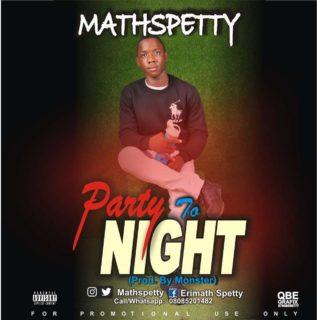 Mathspetty - Party Tonight