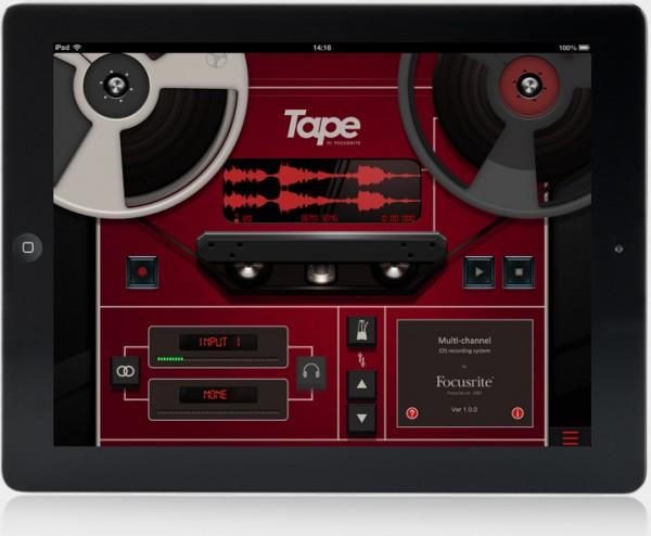 Tape-App-iPad