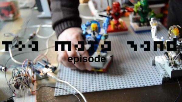 LEGOフィギュアとひとりの男。ガジェットを使った愛らしくもストイックなバンド演奏が話題