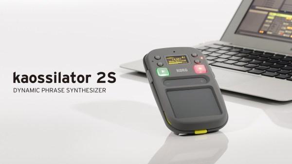 Ableton Liveとの連携で楽曲制作にも便利に使える手のひらサイズのシンセサイザー kaossilator 2Sが発表
