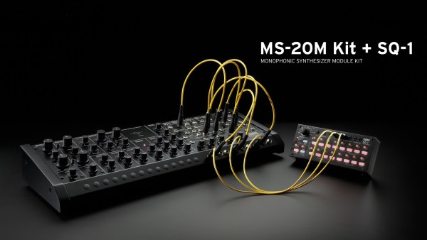 KORGがMS-20 の進化系のステップ・シーケンサーを同梱した組み立て式モジュール MS-20M Kit + SQ-1を発表