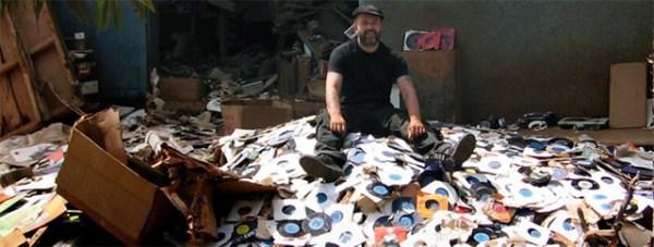 record-digging-pile