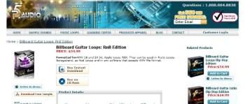 P5audio Billboard Guitar Loops RnB Edition