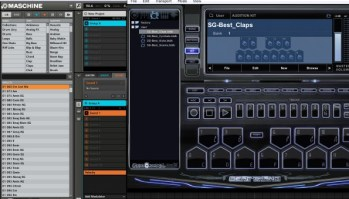 Maschine using sounds and instruments from Beat Thang Virtual